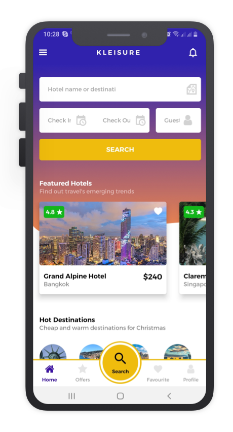 Kleisure React Native App Template Features