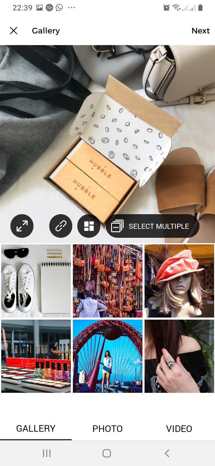 Instaagram Gallery Screen
