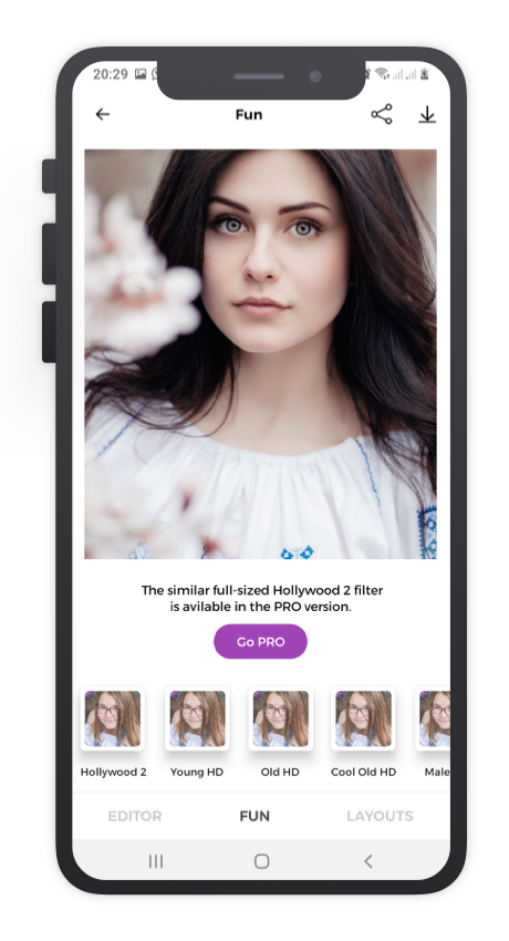 Facce App React Native App Template Features