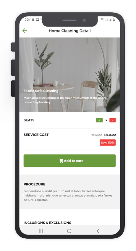 MrCleaner React Native App Template Features