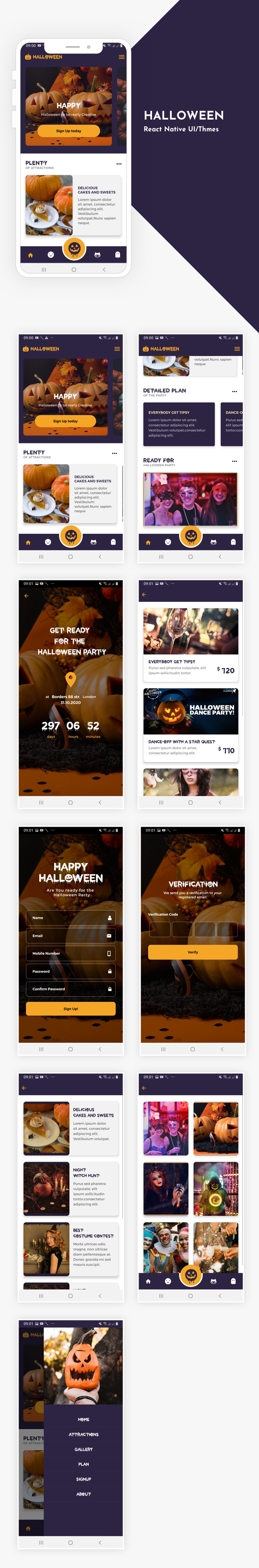 WDI+ Halloween Screen