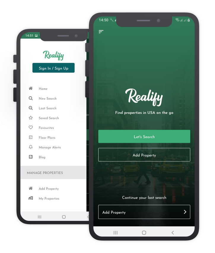 Realify Custom Design React Native App Template
