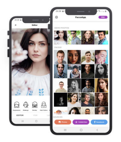 Facce App React Native, Templates, Material Kit, UI/UX and App