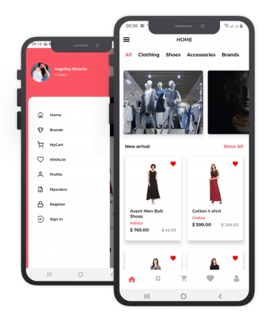 Shoply React Native, Templates, Material Kit, UI/UX and App
