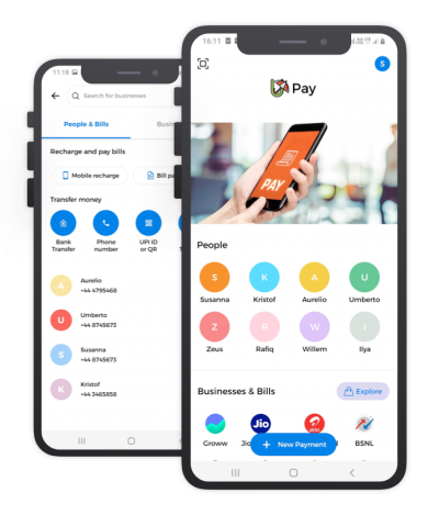 UPay React Native, Templates, Material Kit, UI/UX and App