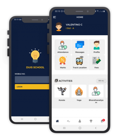 DUIS School React Native, Templates, Material Kit, UI/UX and App